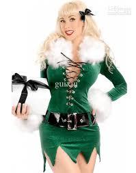 christmas costumes women elf dress deluxe swan