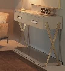 Ivory Console Table Collection High End Ivory Console Table Juliettes Interiors