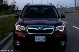 subaru suv 2014 review 2014 subaru forester xt wildsau ca