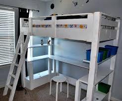 white loft bed with desk desk loft bed white loft bed with desk twin shelves fc5976403e bunk