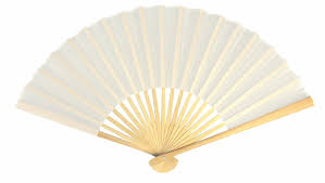 white paper fans fans paper silk folding fans for weddings