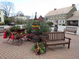 dobbin decorations and geese on the pond gettysburg daily