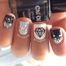 best 25 diamond nail designs ideas on pinterest nail designs