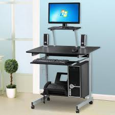 mobile computer desk station mobile computer desk decorate is