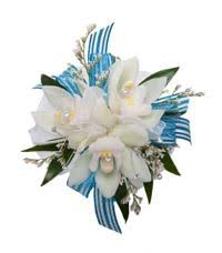 Blue Orchid Corsage Florist In Victoria Sidney And Westshore Brown U0027s The Florist