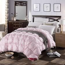 Light Comforters Aliexpress Com Buy 3d Design White Pink Color Natural 90 Duck