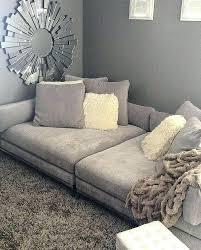 extra deep leather sofa deep seat couch dancingfeet info