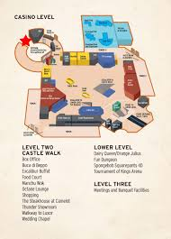 Caesars Palace Map Hotel Pickup Information Awesome Adventures