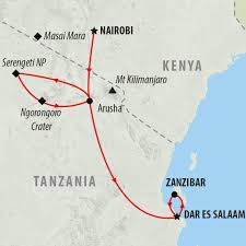 Kenya Map Africa by Kenya Tours And Safari Holidays On The Go Tours