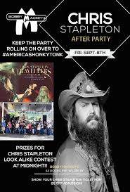 chris stapleton fan club chris stapleton after party look a like and sound alike event