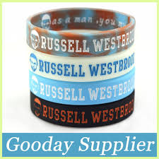 man rubber bracelet images 2pcs basketball russell westbrook sport silicone band oklahoma jpg