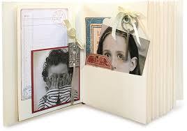 Pocket Photo Album Rectangle Tag U0026 Pocket Album U2014ivory By Graphic 45 For Scrapbooks