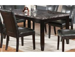 Dining Tables With Marble Tops Dining Table Set Marble Top 5pc Faux Marble Dining Table Set 5