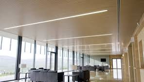Led Ceiling Recessed Lights Rectangular Screwed Linear Recessed Lighting Ceiling Installation