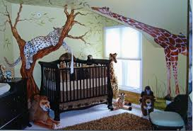 Bedroom Jungle Wall Stickers Jungle Themed Wall Stickers Big For Nursery Rainforest Wallpaper
