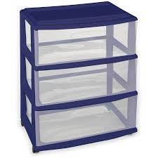 3 Drawer Kitchen Cabinet by Sterilite 3 Drawer Organizer White Available In Case Of 4 Or