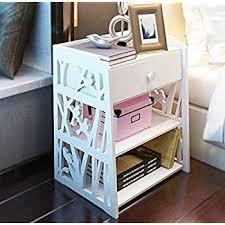 amazon com mybestfurn jane european white drawer nightstand