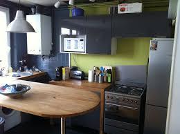 cuisine gris vert cuisine vert anis luxe tendance décoration cuisine gris vert