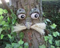 gift ideas for gardeners tree faces sculptures