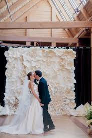 wedding backdrop flower wall on trend paper wall flowers wed on canvas live event and