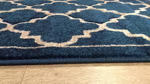 in house designed havana trellis teal rug youtube