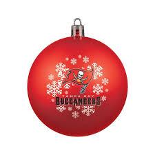 ta bay buccaneers ornament shatterproof backorder