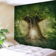 home decor mew big tree wall hanging tapestry green w inch l home decor mew big tree wall hanging tapestry green w59 inch l79 inch