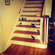 cool design ideas inspirational scary halloween staircase american