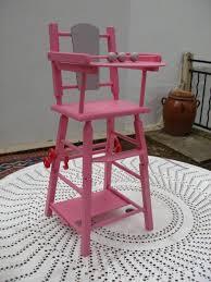 chaise haute poup e chaise haute de poupée vendue photo de jouets vintage à vendre