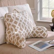 bed rest pillow with cup holder a bed rest pillow provides you a firm and steady support for your