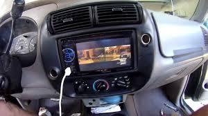 Ford Explorer Upgrades - 2000 ford ranger pioneer double din dvd tv mb quart factory