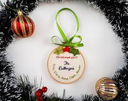 christmas ornament personalized ornament elf ornament family