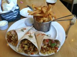 fish tacos with french fries picture of central michel richard