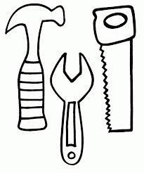 tool box coloring page coloring home