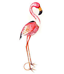 pink flamingo metal animal garden ornaments buy metal animal