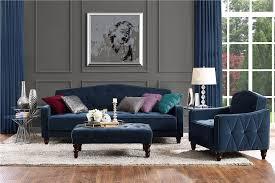 Vintage Tufted Sofa by Dhp Furniture Novogratz Vintage Tufted Ottoman