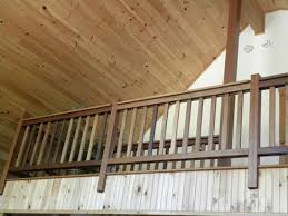 Banister Rails For Stairs Rustic Stairs Log Railings To By Eddy Enterprises Inc