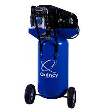 shop quincy compressor 26 gallon portable electric vertical air