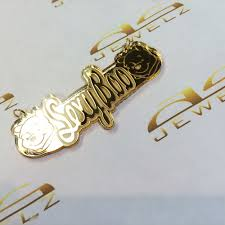 name plated earrings asjewelz gold filled jewelry name plates