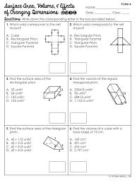 surface area u0026 volume of prisms unit mrs newell u0027s math