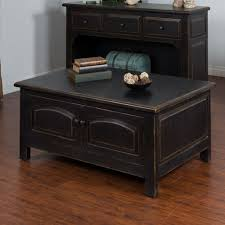 distressed black end table distressed black accent coffee table sunny designs furniture cart