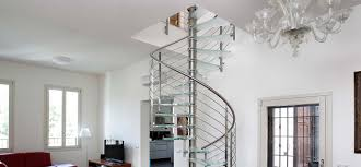 Stainless Steel Handrail Designs Interior Surprising Half Turn Modern Staircase Including