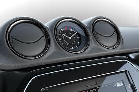 mercedes dashboard clock suzuki vitara web black edition dash clock indian autos blog