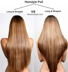 long shag hairstyle pictures with v back cut hairstyle poll long and straight vs long and shaped hair care