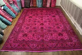 Pink Oriental Rug 10x13 Vintage Persian Rug Ooak 2106 Fresh Inventory West Of