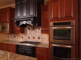 Double Wall Oven Cabinet Kitchen Cabinet Cherry Kitchen Cabinet With Double Wall Oven And