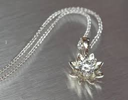 white gold flower necklace images Silver bonsai modern heirloom jewelry by ben and kathryn jpg
