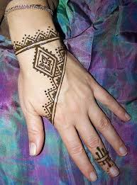 collection of 25 tribal henna on