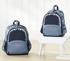 Pottery Barn Batman Backpack Mackenzie Critter Shark Backpack Pottery Barn Kids