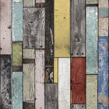painted wooden planks wallpaper departments diy at b q